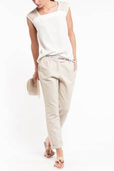 Летние льняные женские брюки TOM FARR со скидкой